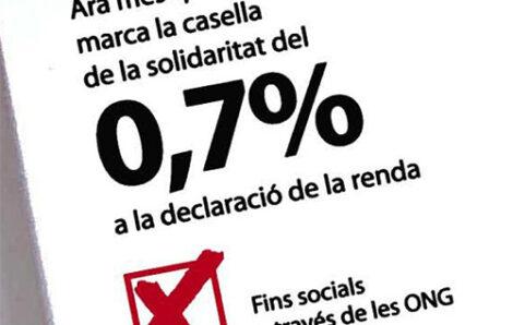 Les entitats socials catalanes, perjudicades de nou pel govern espanyol en el repartiment de l'IRPF