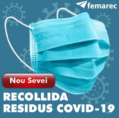Nou servei de recollida de residus Covid-19 de Femarec