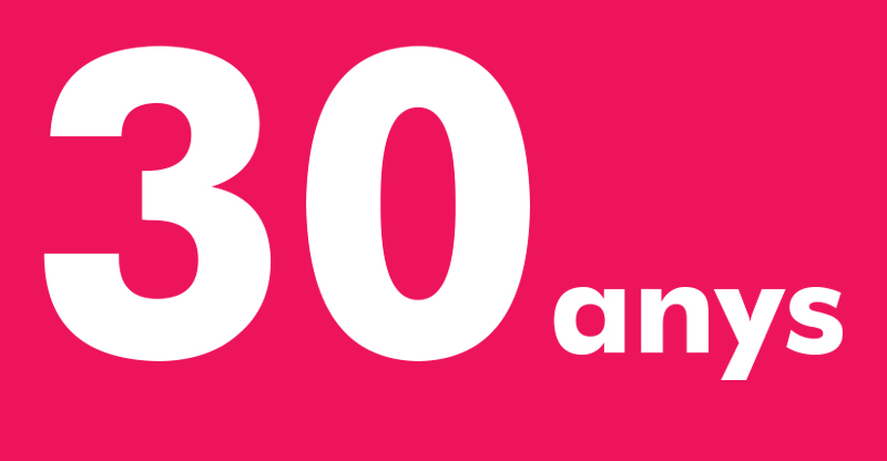 30 anys