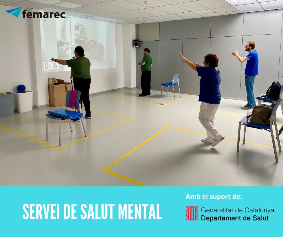 El Departament de Salut col·labora amb el Servei de Salut Mental de Femarec