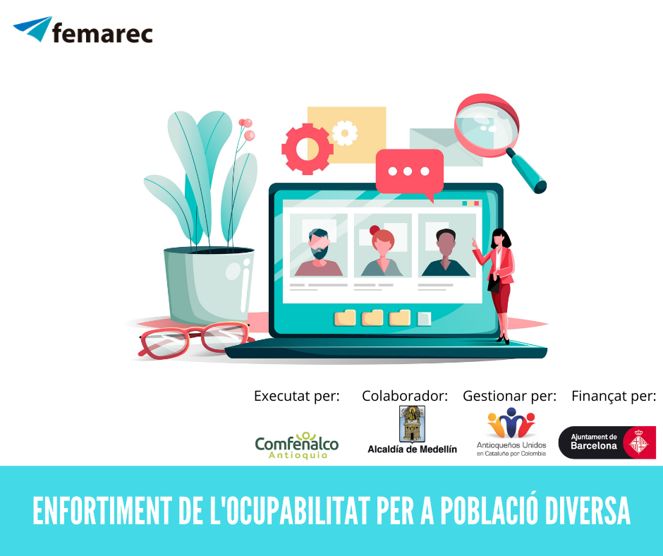 Femarec estrena curs d'Enfortiment de l'ocupabilitat per a població diversa