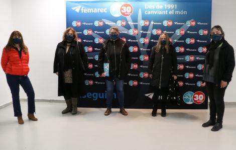 L'Equip Directiu del SOC visita Femarec