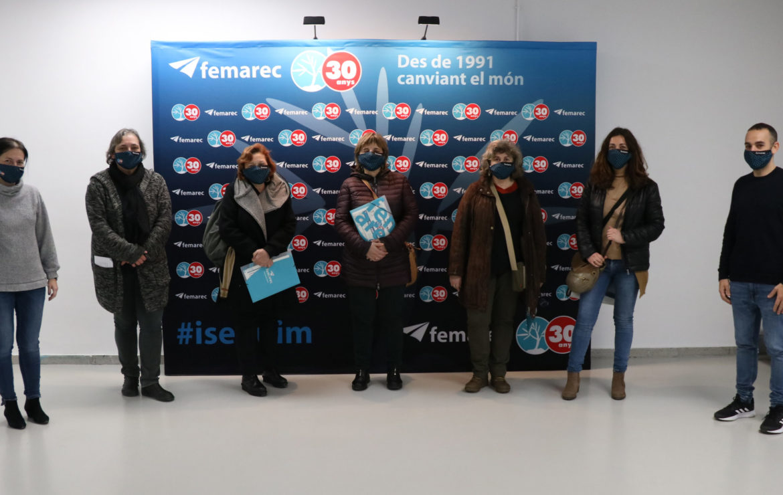 Barcelona Activa visita Femarec