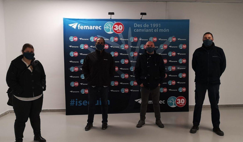 DABA, distribuïdor exclusiu de Nespresso a Espanya, visita Femarec