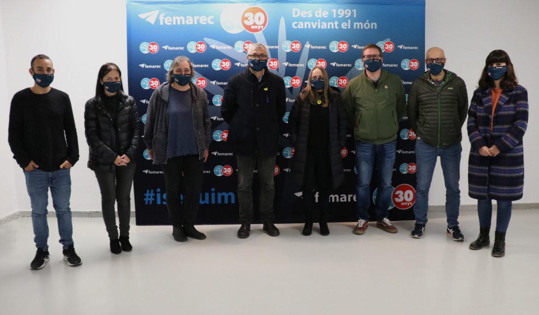 Oriol Amorós i Josep Vidal coneixen en primera persona el Projecte Femarec