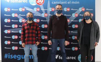 El Consorci per a la Formació Contínua de Catalunya visita Femarec