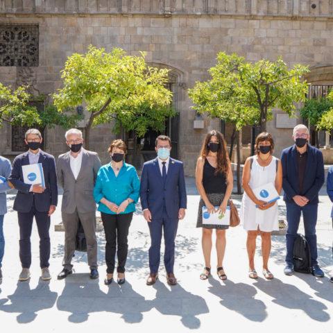 La Taula del Tercer Sector trasllada al president de la Generalitat que el rescat social no pot esperar més